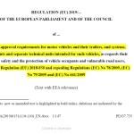 16.04.2019, EU typegodkjenningsregulativ, EU 2018 858